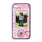 You & Me iphone Case - Apple iPhone 4 Case (Black)