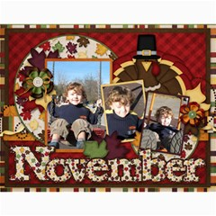 Calendar For 2011 By Mariya   Wall Calendar 11  X 8 5  (12 Months)   Rg4400mbo08a   Www Artscow Com Month