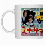 School Days Mug - White Mug
