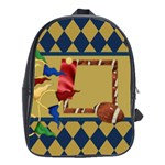 Games We Play Football Backpack - School Bag (Large)