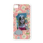 Pips IPhone Case 1 - Apple iPhone 4 Case (White)