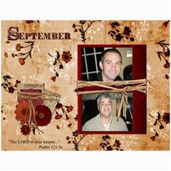 Reese Family Calendar By Memorykeeper   Wall Calendar 11  X 8 5  (12 Months)   Uoe21jqxxlt2   Www Artscow Com Month