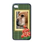 pet - Apple iPhone 4 Case (Black)