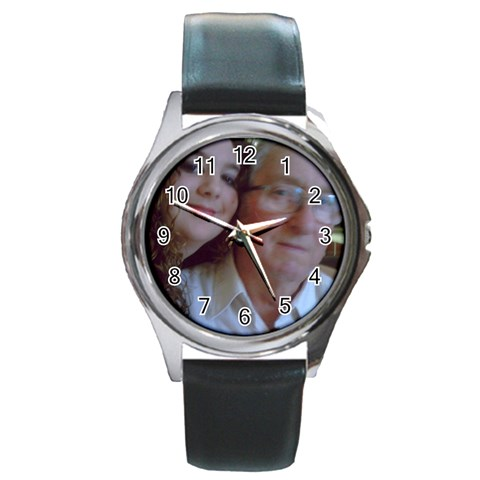 Watch For Karen By Jean Guy Demeter   Round Metal Watch   Qy0hs5cmn15c   Www Artscow Com Front