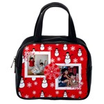 red snowman purse - Classic Handbag (One Side)