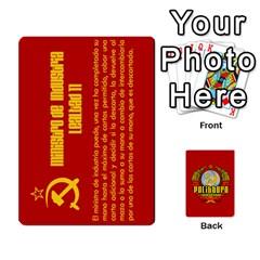 Politburo Edicion Capitalista (baraja Dos) By Dar   Playing Cards 54 Designs   Mgm0hf145xpd   Www Artscow Com Front - Spade4