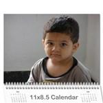 harsha calender - Wall Calendar 11  x 8.5  (12-Months)