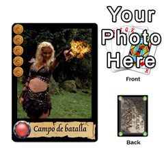 Ciudadelas De Xena   Mazo 1 By Lalagonca   Playing Cards 54 Designs   Ee27fl13xtid   Www Artscow Com Front - Diamond8