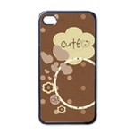 Cute Brownie iPhone Case - Apple iPhone 4 Case (Black)