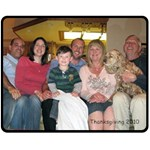 Family Blanket - Fleece Blanket (Medium)