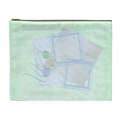 Pale Green Custom Cosmetic Bag Xl By Purplekiss   Cosmetic Bag (xl)   2y4mc0ck96ru   Www Artscow Com Front
