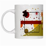 Tangerine Breeze Mug 1 - White Mug