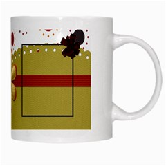 Tangerine Breeze Mug 1 By Lisa Minor   White Mug   Wgbgoe0o1kcl   Www Artscow Com Right