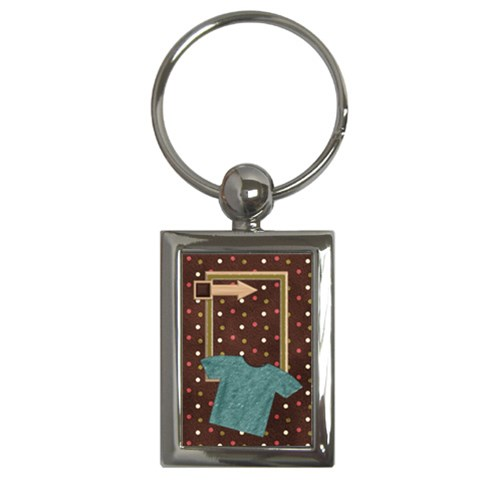 Kit H&h Keychain 1 By Lisa Minor   Key Chain (rectangle)   Vgdse1xhgumt   Www Artscow Com Front