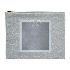 Gray Elegance Custom Cosmetic Bag Xl By Purplekiss   Cosmetic Bag (xl)   7p78nz1u13dz   Www Artscow Com Front
