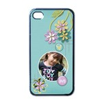 Apple iPhone 4 Case- Joy - Apple iPhone 4 Case (Black)