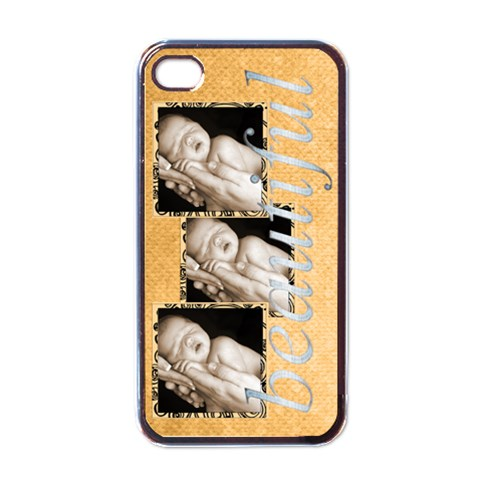 Beautiful Triple Frame I Phone Case By Catvinnat   Apple Iphone 4 Case (black)   Os0uhsy663c9   Www Artscow Com Front