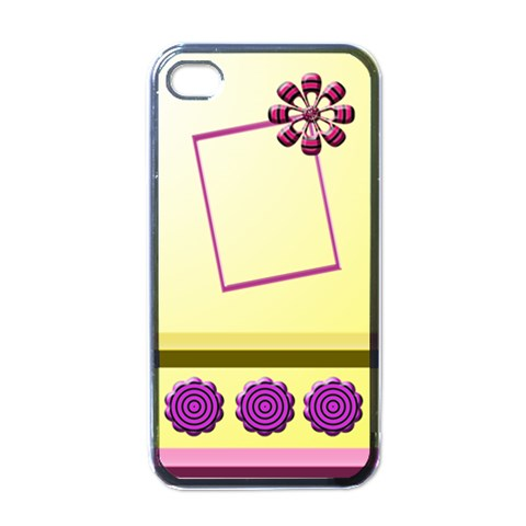 My Baby Girl   Iphone Case By Daniela   Apple Iphone 4 Case (black)   Z42v2wy0khy3   Www Artscow Com Front