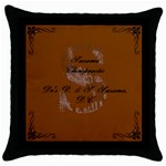 dani and seth christmas! 2 - Throw Pillow Case (Black)