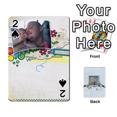 Branndons 4 Playing Cards By Sherry   Playing Cards 54 Designs   Rtwcp5xkqayg   Www Artscow Com Front - Spade2