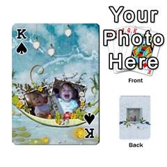 King Branndons 4 Playing Cards By Sherry   Playing Cards 54 Designs   Rtwcp5xkqayg   Www Artscow Com Front - SpadeK