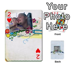 Branndons 4 Playing Cards By Sherry   Playing Cards 54 Designs   Rtwcp5xkqayg   Www Artscow Com Front - Heart2