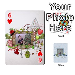 Branndons 4 Playing Cards By Sherry   Playing Cards 54 Designs   Rtwcp5xkqayg   Www Artscow Com Front - Heart6