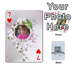 Branndons 4 Playing Cards By Sherry   Playing Cards 54 Designs   Rtwcp5xkqayg   Www Artscow Com Front - Heart7