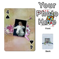 Branndons 4 Playing Cards By Sherry   Playing Cards 54 Designs   Rtwcp5xkqayg   Www Artscow Com Front - Spade4
