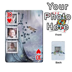 Branndons 4 Playing Cards By Sherry   Playing Cards 54 Designs   Rtwcp5xkqayg   Www Artscow Com Front - Heart10