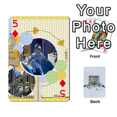 Branndons 4 Playing Cards By Sherry   Playing Cards 54 Designs   Rtwcp5xkqayg   Www Artscow Com Front - Diamond5