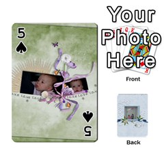 Branndons 4 Playing Cards By Sherry   Playing Cards 54 Designs   Rtwcp5xkqayg   Www Artscow Com Front - Spade5