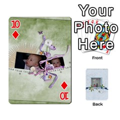 Branndons 4 Playing Cards By Sherry   Playing Cards 54 Designs   Rtwcp5xkqayg   Www Artscow Com Front - Diamond10