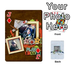 Jack Branndons 4 Playing Cards By Sherry   Playing Cards 54 Designs   Rtwcp5xkqayg   Www Artscow Com Front - DiamondJ