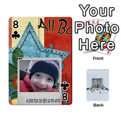 Branndons 4 Playing Cards By Sherry   Playing Cards 54 Designs   Rtwcp5xkqayg   Www Artscow Com Front - Club8