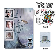 Branndons 4 Playing Cards By Sherry   Playing Cards 54 Designs   Rtwcp5xkqayg   Www Artscow Com Front - Club10