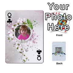 Queen Branndons 4 Playing Cards By Sherry   Playing Cards 54 Designs   Rtwcp5xkqayg   Www Artscow Com Front - ClubQ