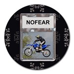 No Fear Round Mousepad