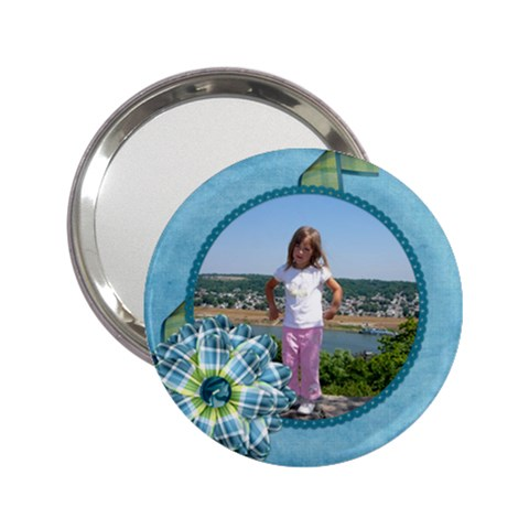 Bluegrass Boy Handbag Mirror 1 By Lisa Minor   2 25  Handbag Mirror   Jrj50k8fiwvz   Www Artscow Com Front