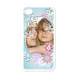 flower kids - Apple iPhone 4 Case (White)