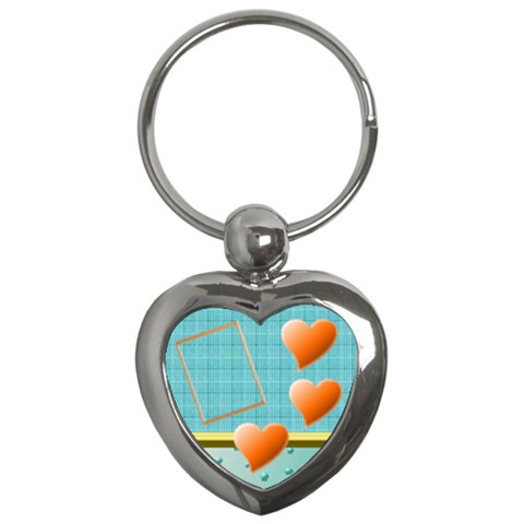 Purple Hearts   Key Chain By Daniela   Key Chain (heart)   I0nv58eo3cw4   Www Artscow Com Front
