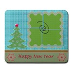 Happy New Year mousepad - Large Mousepad