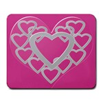 Heart U mousepad - Large Mousepad