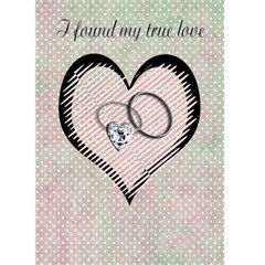 I Found My True Love Card By Danielle Christiansen   Greeting Card 5  X 7    1nbz00ekcczn   Www Artscow Com Front Cover