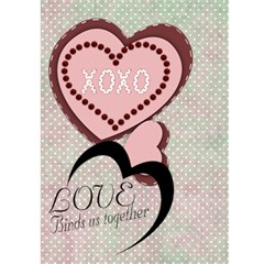 I Found My True Love Card By Danielle Christiansen   Greeting Card 5  X 7    1nbz00ekcczn   Www Artscow Com Front Inside