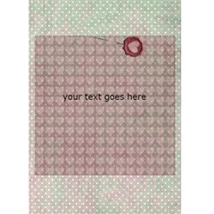 I Found My True Love Card By Danielle Christiansen   Greeting Card 5  X 7    1nbz00ekcczn   Www Artscow Com Back Inside