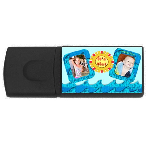 Summer Usb By Danielle Christiansen   Usb Flash Drive Rectangular (2 Gb)   Angpp6egaj3u   Www Artscow Com Front