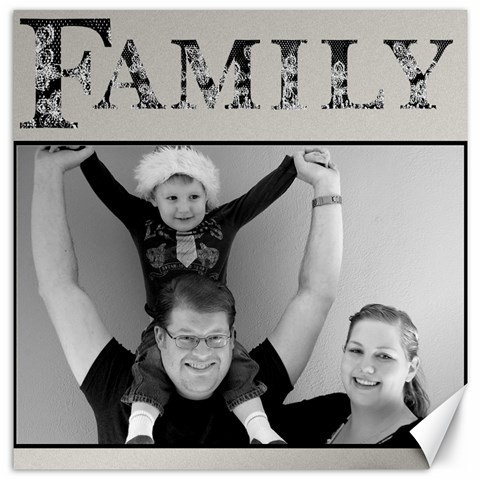 family by nicole 16 x16 Canvas - 1