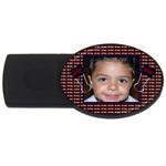 all boy usb - USB Flash Drive Oval (4 GB)