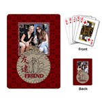 My Frirend Playing Cards - Playing Cards Single Design